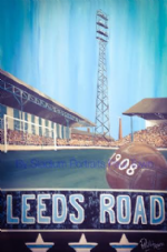 Huddersfield Town 'Leeds Road' celebration 20'' x 30'' Box Canvas